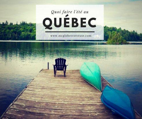 Quoi faire cet été au Québec