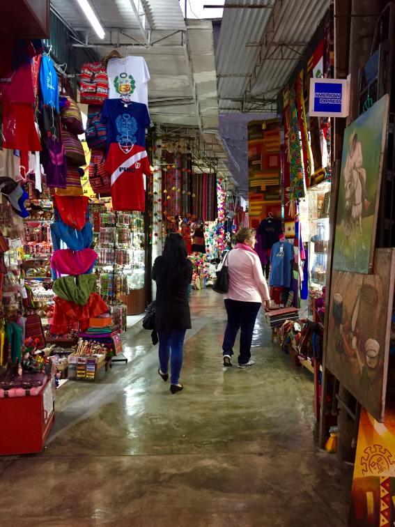 Indian market à Miraflores Lima Pérou