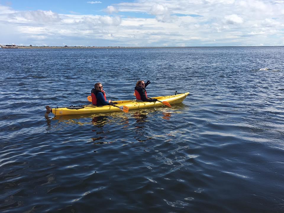 Faire du Kayak sur la rivière Chuchill au Manitoba