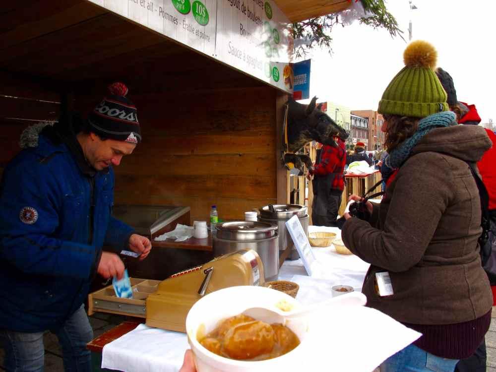 Ragoût de boulettes du Marché de Noël de Joliette