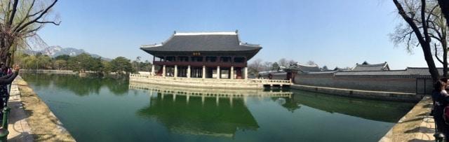 Séoul Corée du Sud tour gratuit du palais
