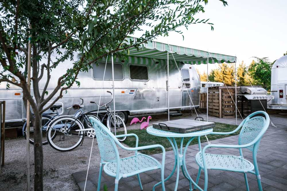 Schnepf Farms Glamping Airstream