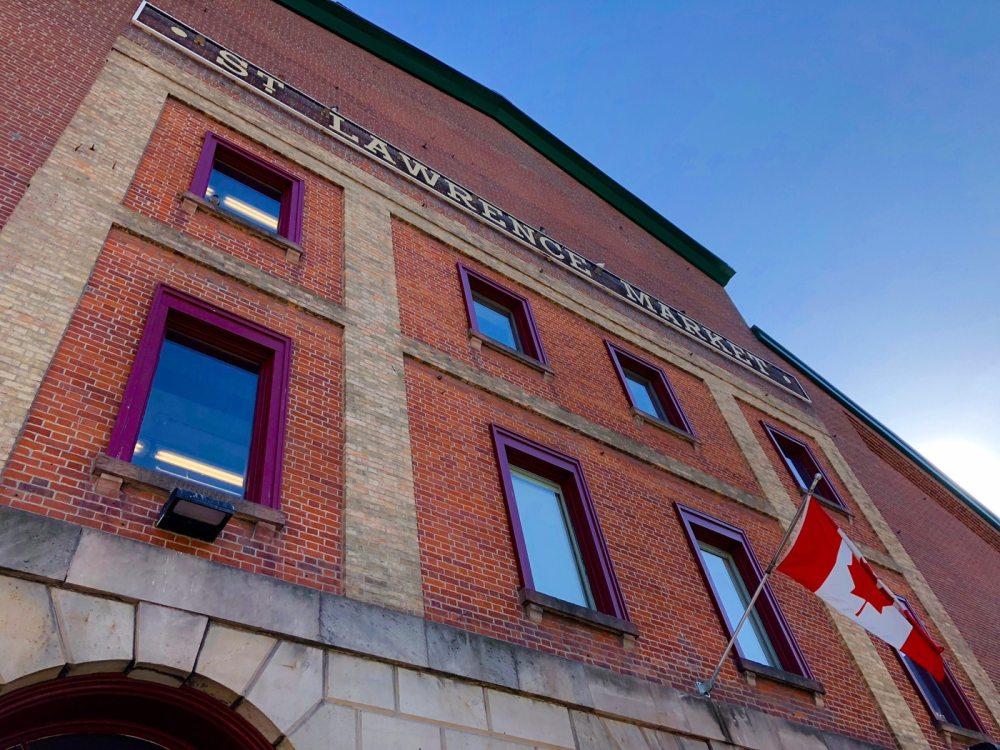 St Lawrence market, un arrêt incontournable dan le Old Town de Toronto