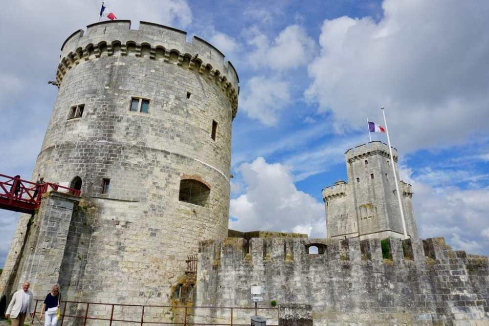 Quoi faire à La Rochelle? Tour Saint-Nicolas et Tour de la Garde