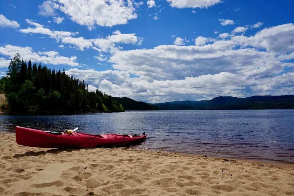 Parc du Lac Rapides à Sept-Îles