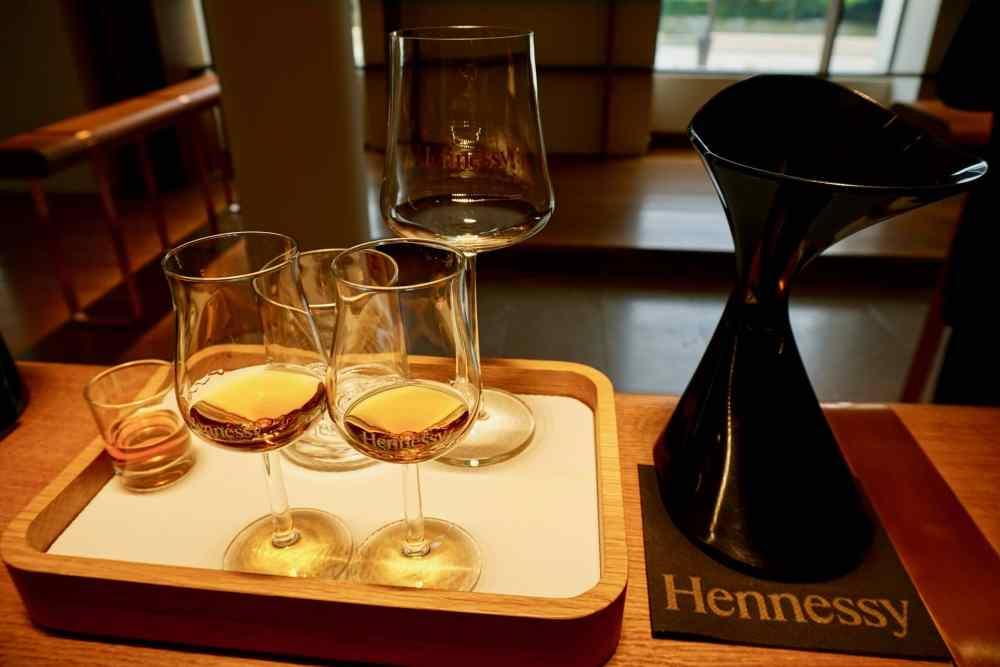 Visite et dégustation de cognac à la Maison Hennessy de Cognac en France