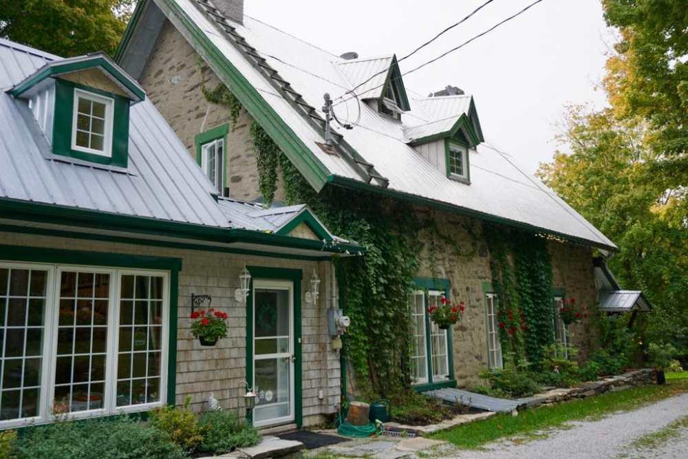Manoir d'Irlande à Maple Grove en Chaudière-Appalaches