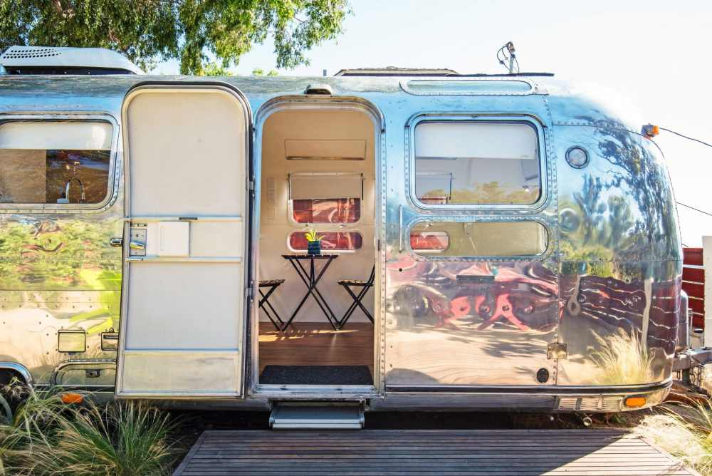 Los Angeles Airstream rustique Airbnb Camper États-Unis