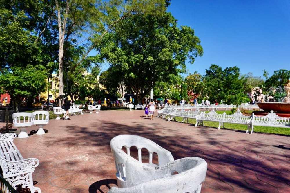 Parque Central Francisco Valladolid, Mexique