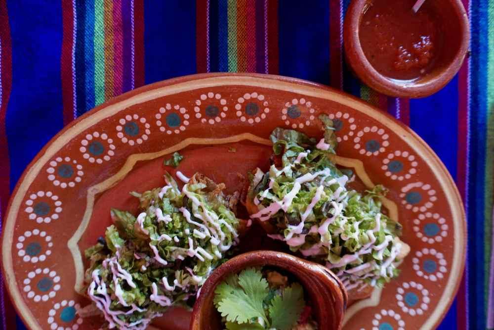 Tacos dorradas de pollo à Valladolid Mexique