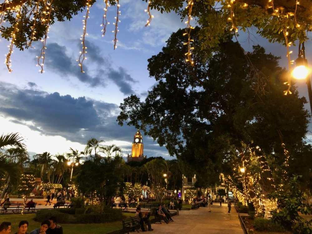Plaza de la Indepedencia Merida, Mexique