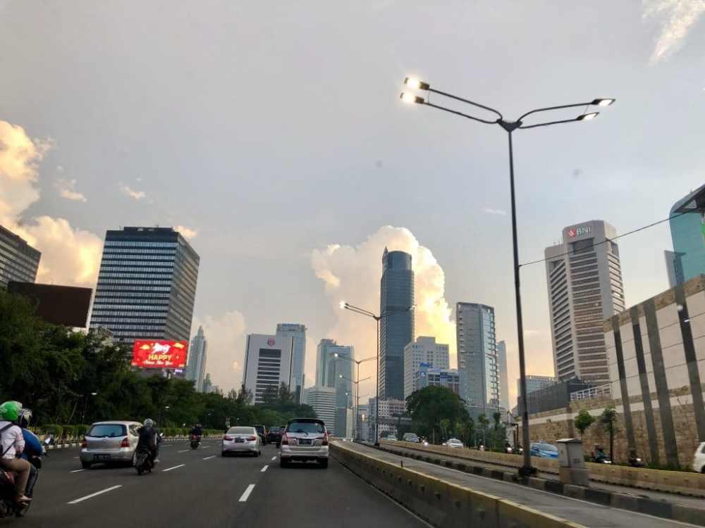 Centre-ville de Jakarta, Indonésie