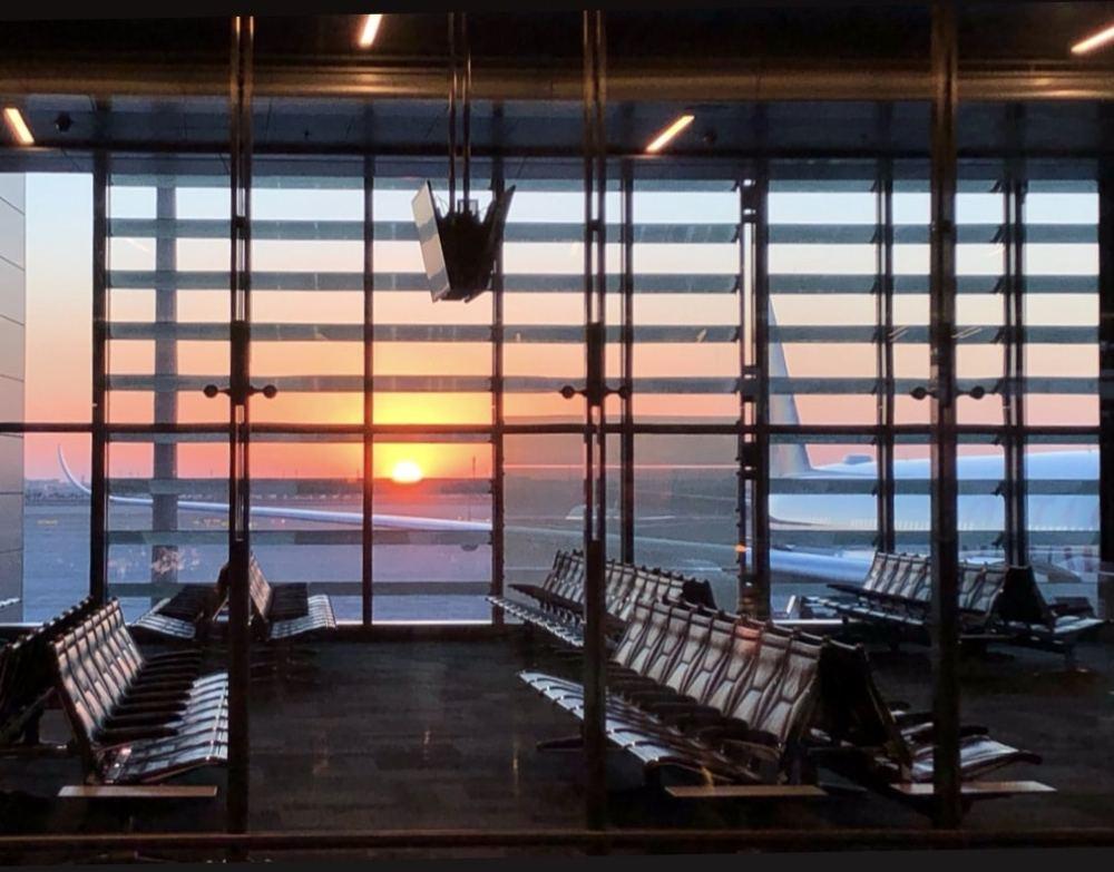 Aéroport de Doha au Qatar
