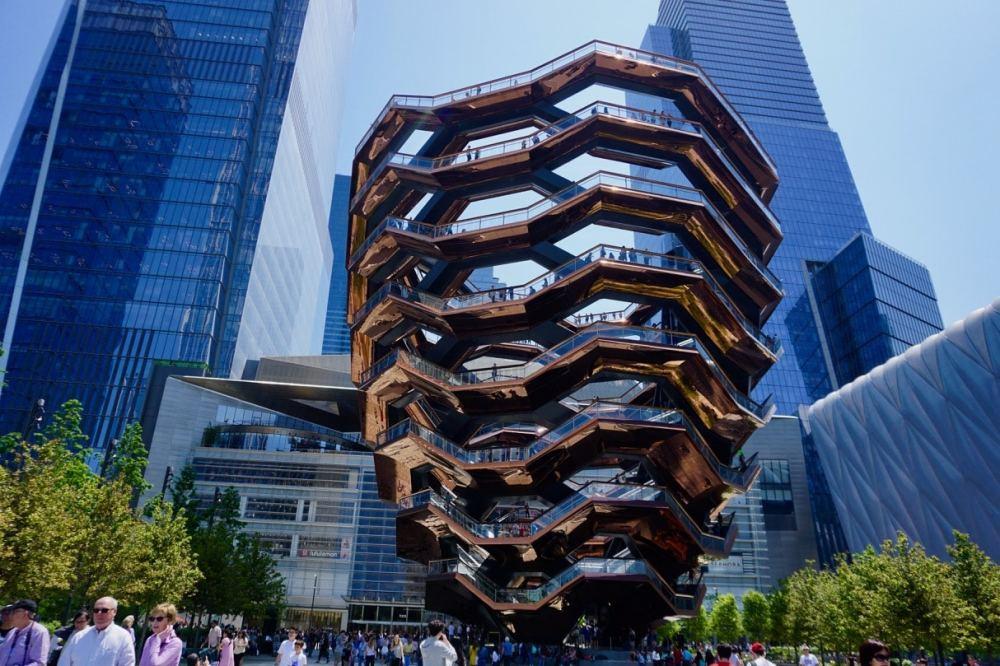 The Vessel près de Hudson Yard à New York