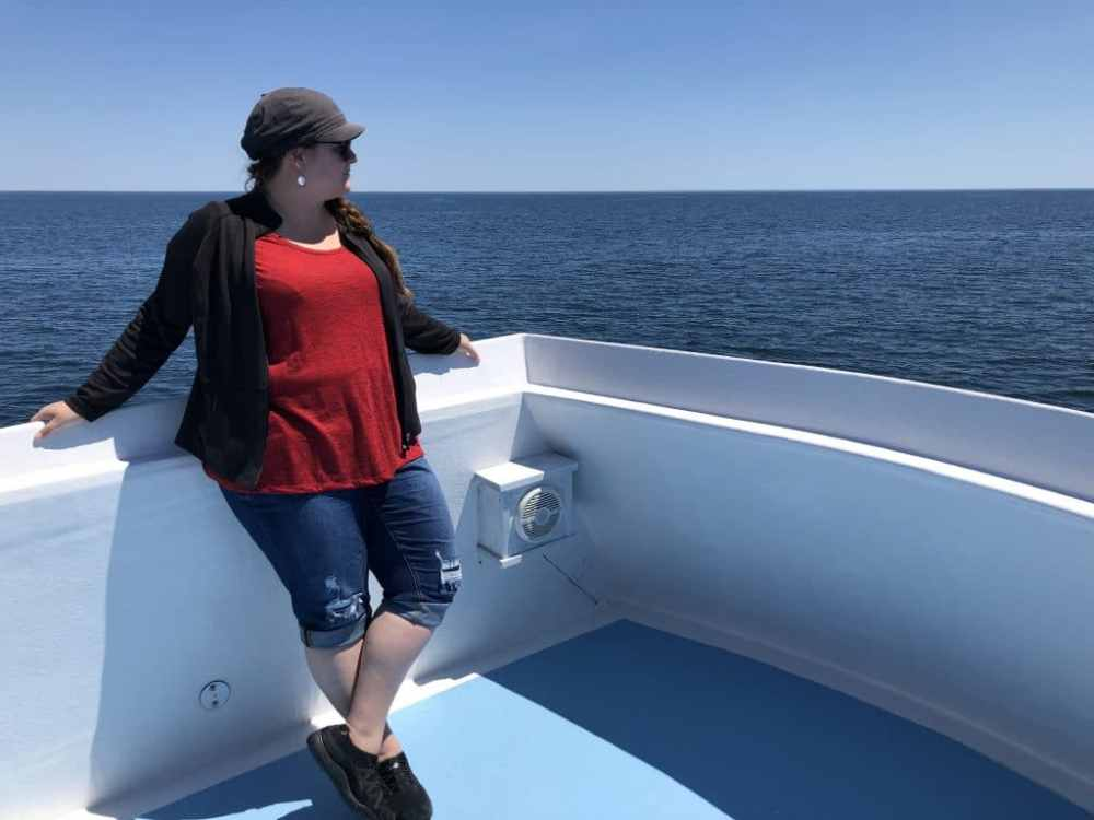 Jennifer bateau Top of the Island Tour Grand Manan