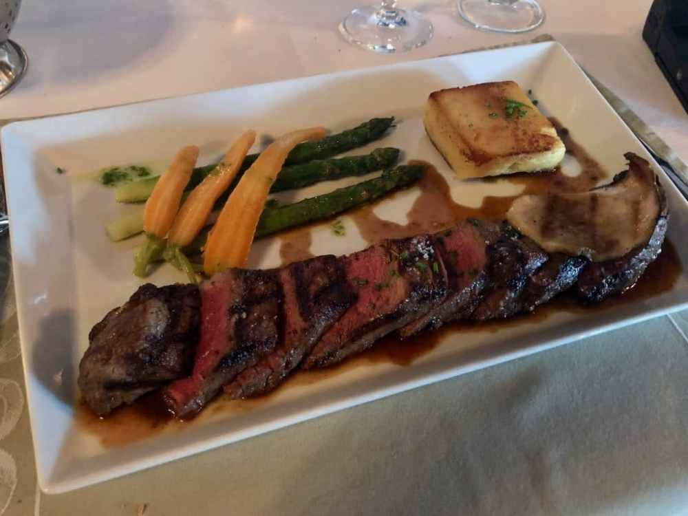 Filet de boeuf au Rossmount Inn