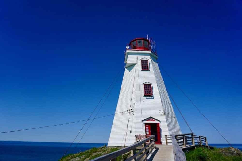 Le phare de Swallow Tail sur Grand Manan