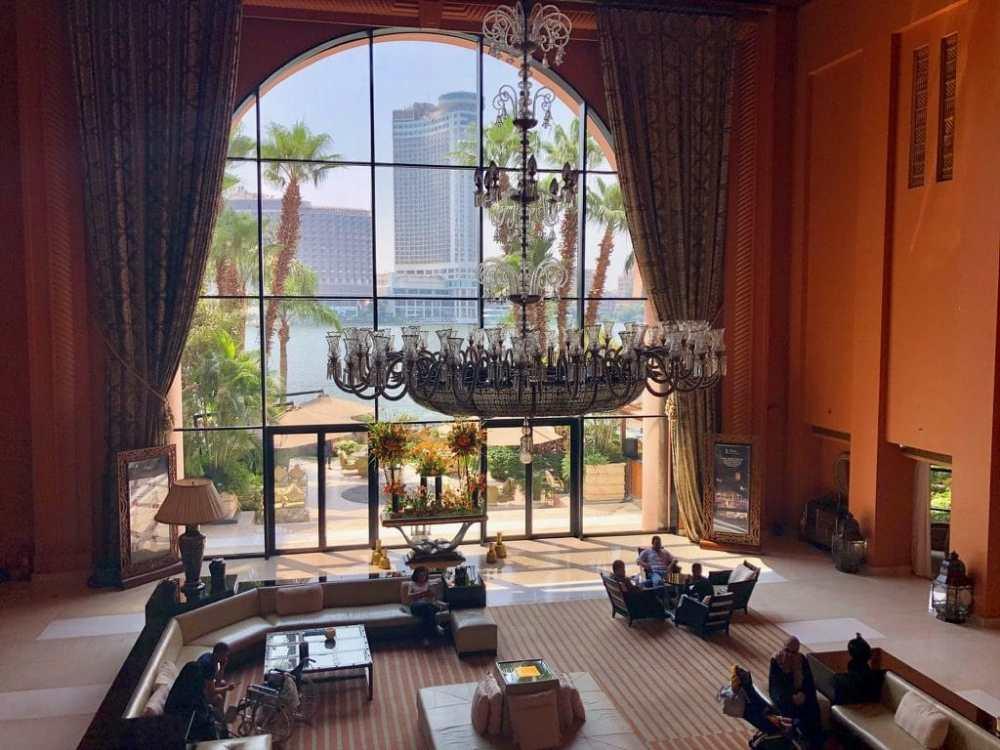 Lobby du Sofitel El-Gezirah au Caire, Égypte