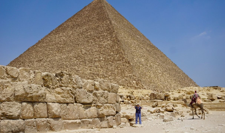 Pyramide de Kheops Caire Egypte