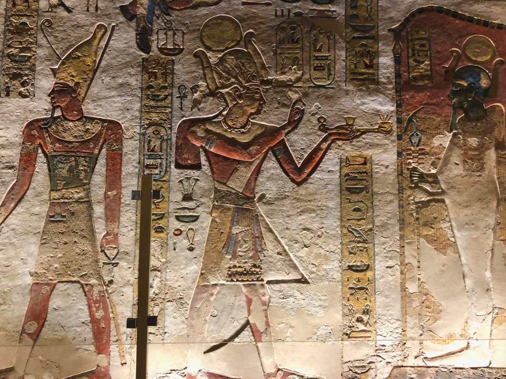 Hieroglyphes Egypte