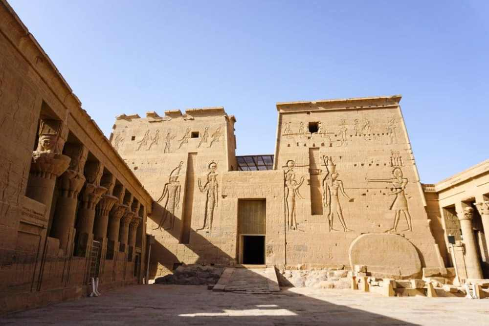 Temple Philae à Assouan en Égypte
