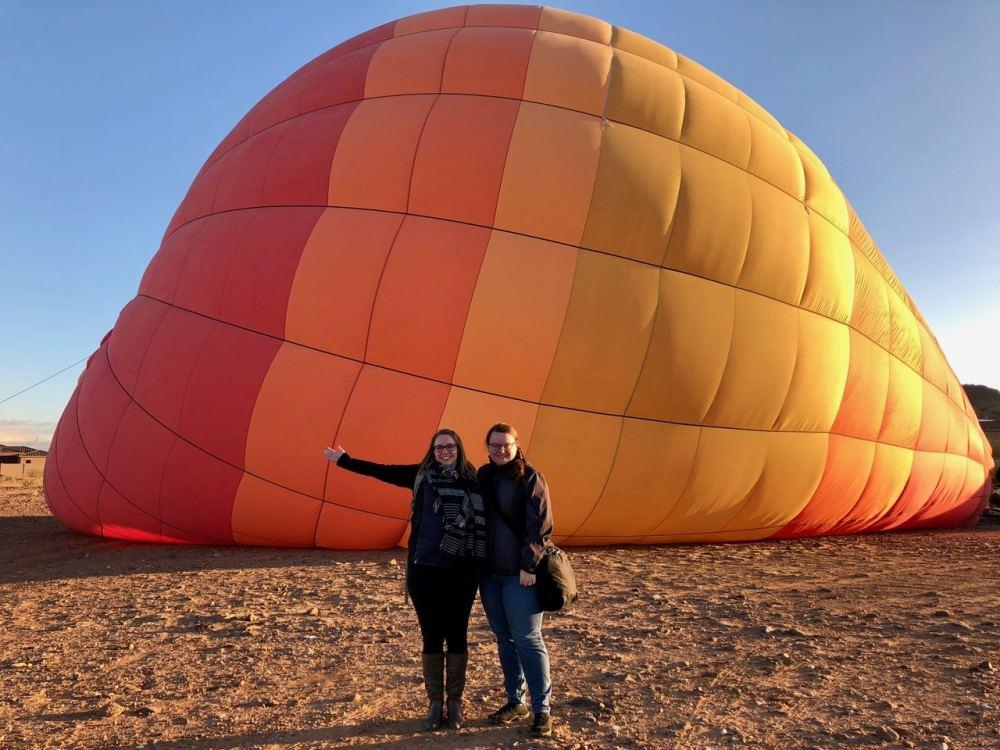 Tour de montgolfière à Phoenix Arizona