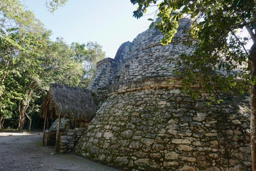 Ruines de Coba Riviera Maya Mexique
