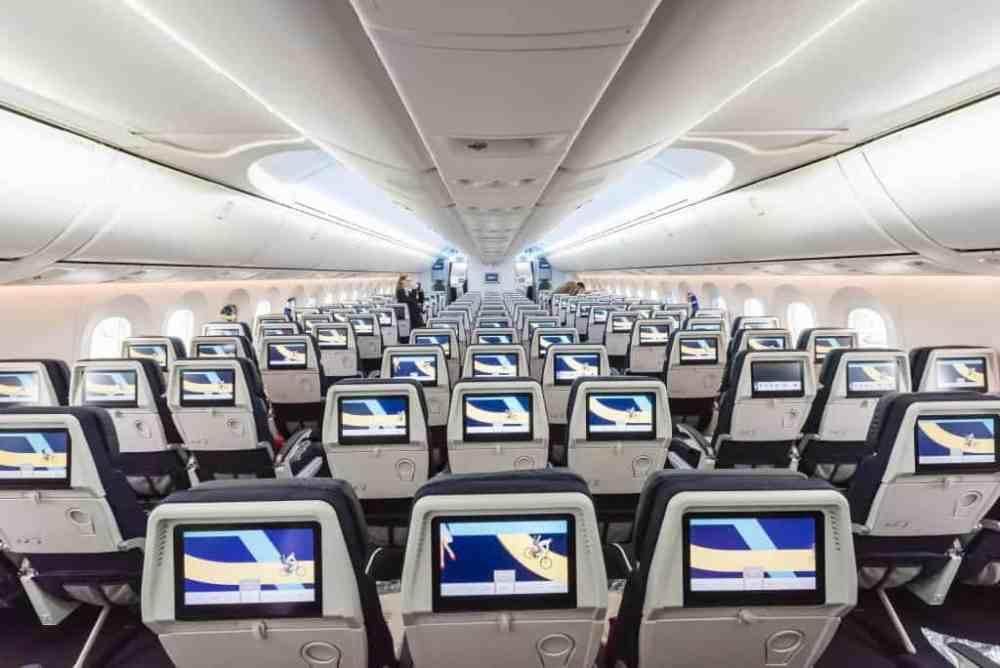 Air France classe économique