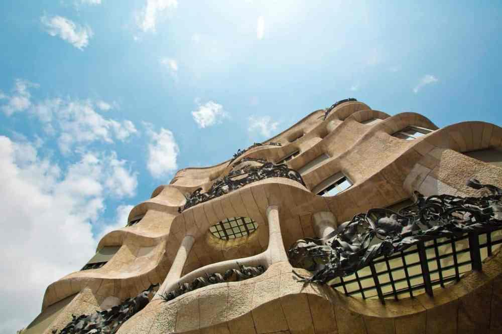 Barcelone Espagne, architecture Gaudi
