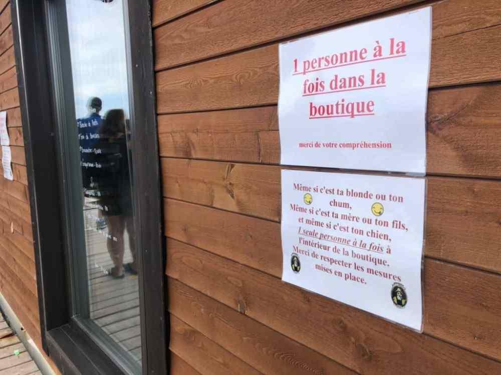 Chez Pit'Caribou, les règles en temps de pandémie