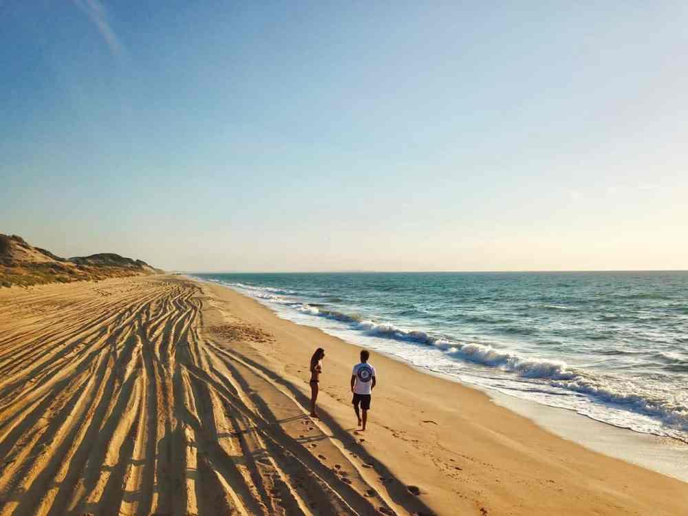 Alexandra et Julien d'Andraloha en Australie plage