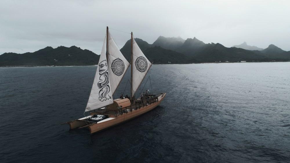 Empreinte_Voilier traditionnel îles Vanuatu Pacifique Sud