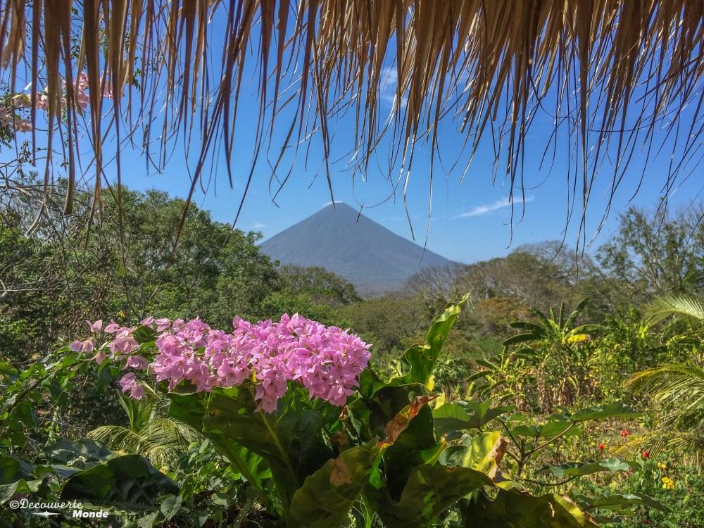 Paysage volcan au Nicaragua