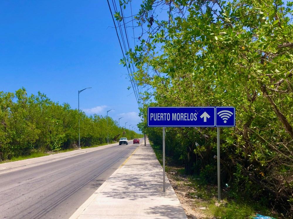 Puerto Morelos port side