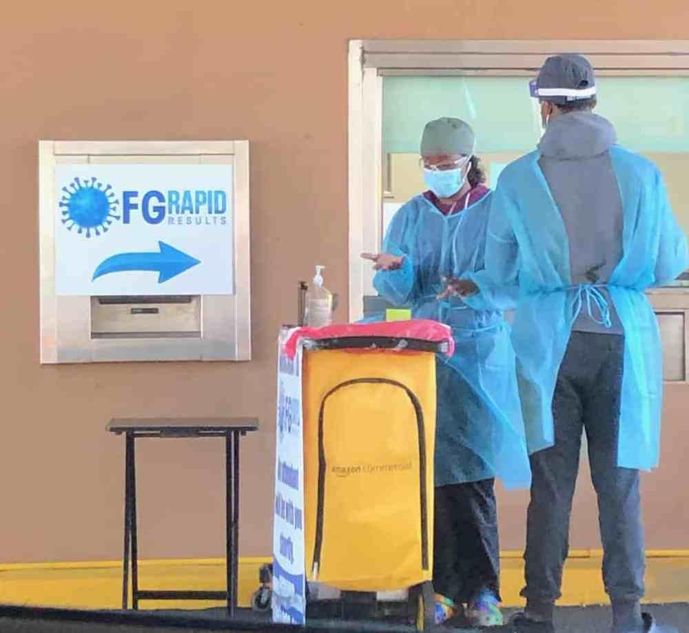Le test PCR rapide aux États-Unis