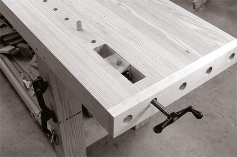 Chris Schwarz Workbench Finish