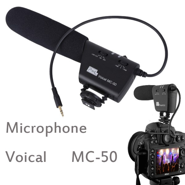 DSLR mikrofon pixel MC-50