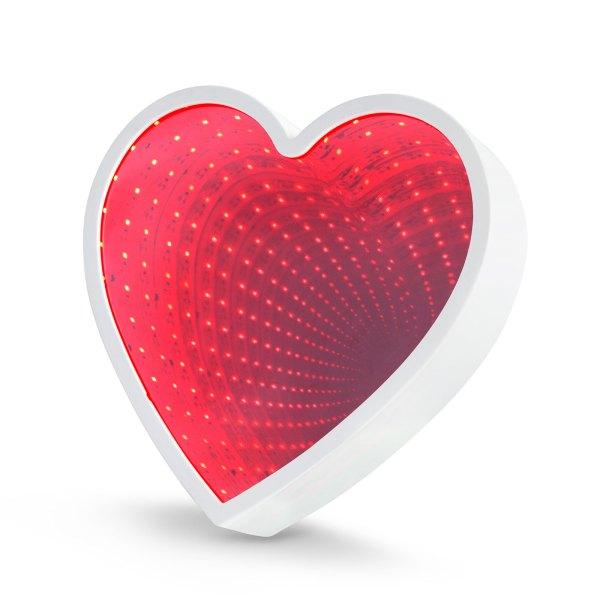 LED varázstükör - szív alakú