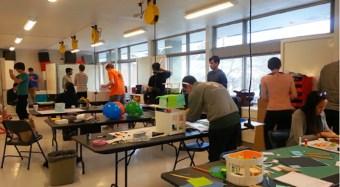teaching lab in the e-quad