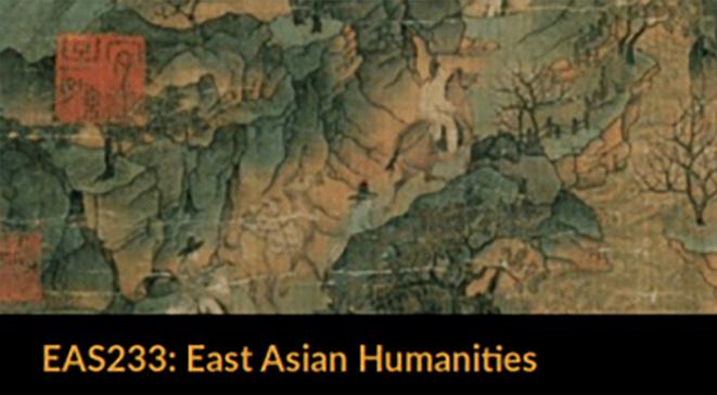 East Asian Humanities banner