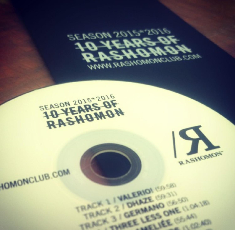 RASHOMON 1col su cd e cartoncino
