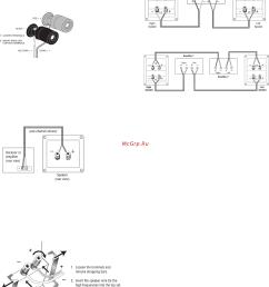 4 terminal speaker wiring diagram [ 2011 x 2620 Pixel ]