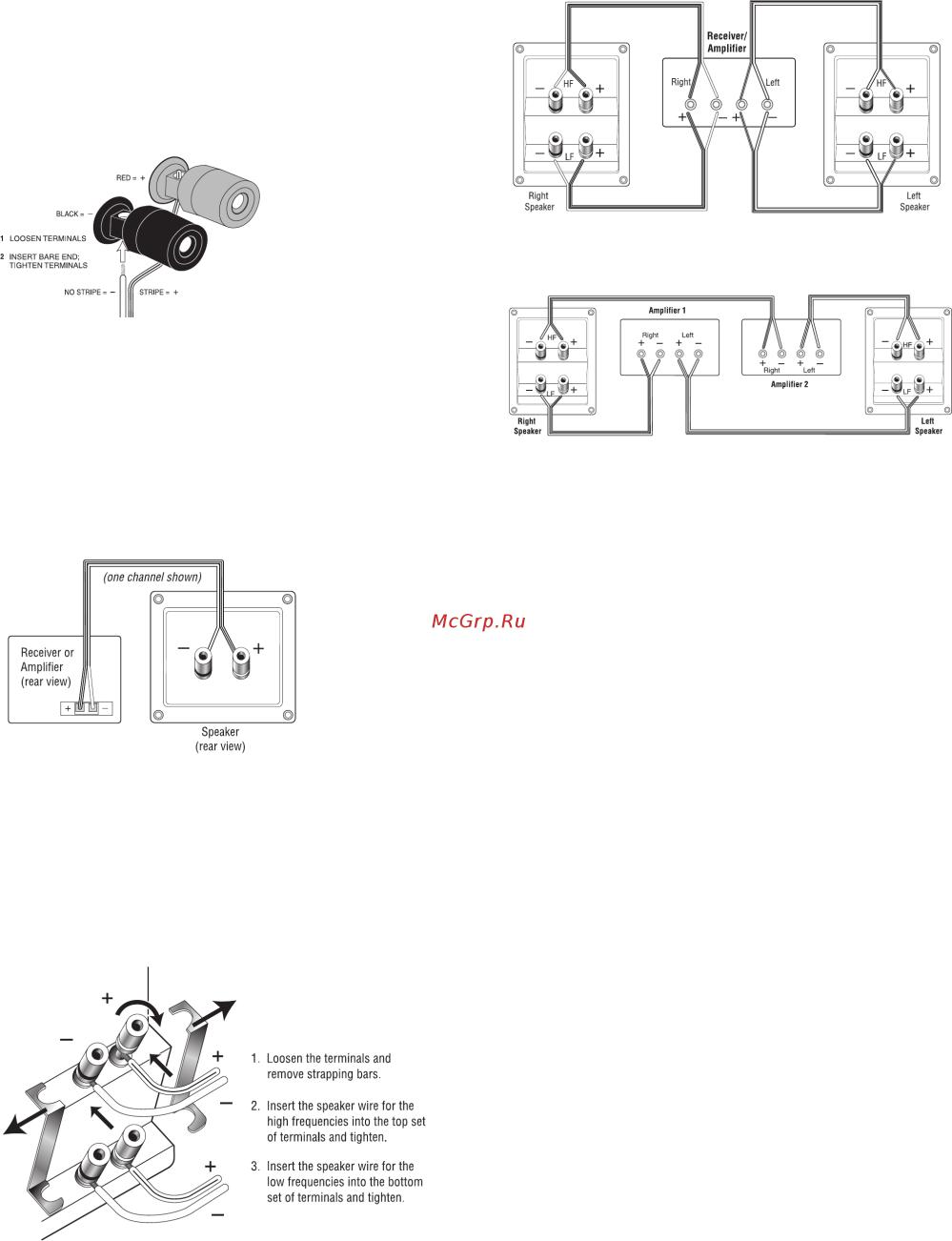 medium resolution of 4 terminal speaker wiring diagram