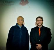 Dr. Liang and Simon