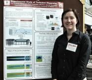 Christina Vanderwel at 2013 Grad Poster Competition.