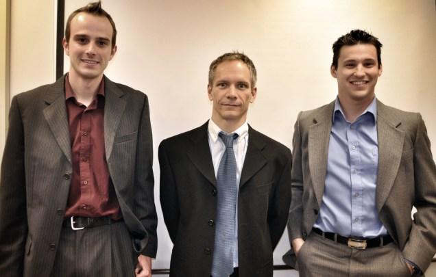 Yanick, Dr. Jodoin and Philippe