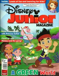 Disney Junior July 2013 Volume 4 Number 7