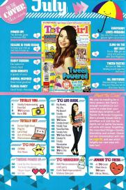 Total Girl July 2013 Volume 8 Number 11 Table of Contents