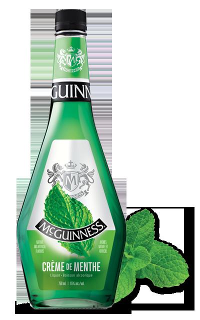 Crme de Menthe Green Liqueur  McGuinness Liqueurs
