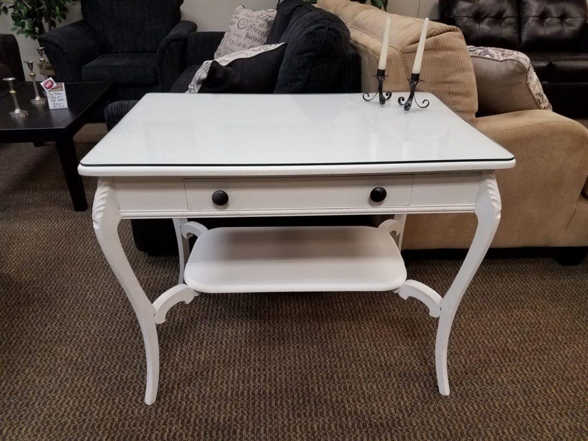 sofa table white. Black Bedroom Furniture Sets. Home Design Ideas